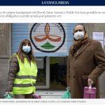 La vanguardia publica report on our solidarity project