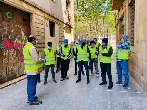 Proyecto solidaridad Alimentaria Barcelona